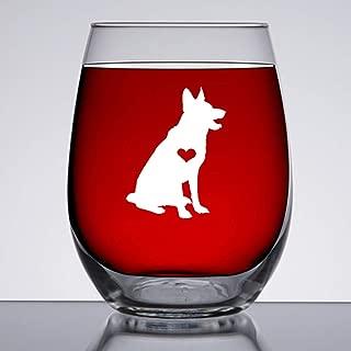 Best german shepherd wine glass Reviews