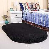 Noahas Ultra Soft Velvet Bedroom Rugs Kids Room Carpet Modern Shaggy Area Rugs Home Decor 2.6' X 5.3', Creamy