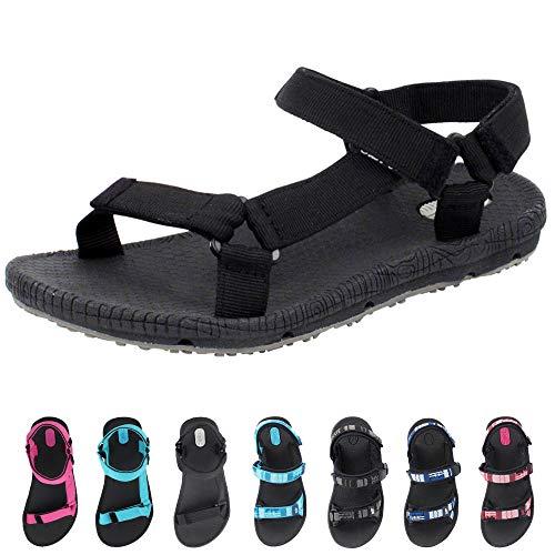 Gold Pigeon Shoes Simplus Outdoor Water Sandals for Women & Men: 5931 Black, EU38 (Women Size 7.5-8 / Big Kid Size 6.5-7)