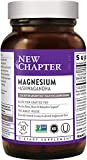 Best Magnesium Supplements - Magnesium, New Chapter Magnesium + Ashwagandha Supplement, 2.5X Review