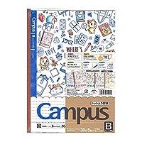 ショウワノート ドラえもん 学習帳 ノート キャンパス B罫 ドット入り B5 5冊パック 119214002