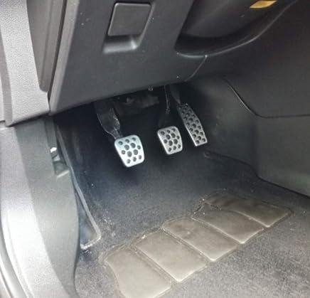 HCDSQSN Car Styling Embrague Pedales de Freno de Gas Cubierta para Opel Mokka Astra J Insignia