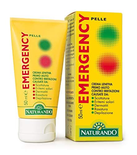Naturando Srl 5196 EMERGENCY pelle 50ml, Plástico, blanco