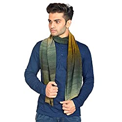 513 Mens Stripes Knitted Muffler (Multicolour)