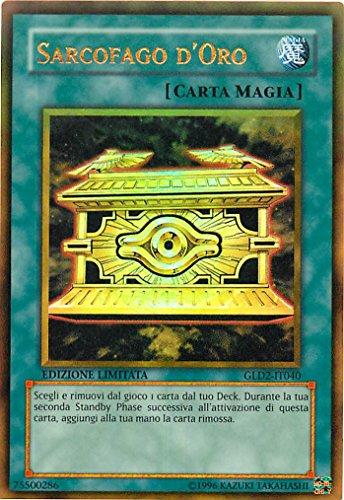 YU-GI-OH! - GLD2-IT040 - Sarcofago d'oro - Serie Oro 2009 - Limited Edition - Oro