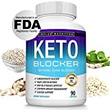 Keto Blocker Pills White Kidney Bean Extract - 1800 mg Natural Ketosis, Support Keto Diet, for Men Women, 90 Capsules, Toplux Supplement