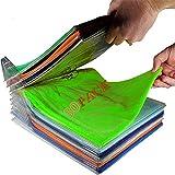 Nifogo organizador camisetas,Organizador ropa,Organizador de Armario, Organizador de almacenamiento,Plegable Apilamiento Camisas Camiseta Folder,Tamaño Normal (30pack)