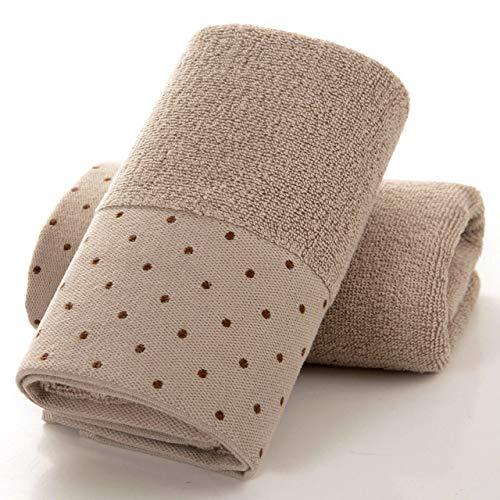 storefront 35x76cm Espesamiento 32 Stock Toalla de algodón Alfombrilla de baño Lavado para Adultos Toalla de Cara Grande Absorción de Agua Aumentar Paño de Fitness Deportivo Toallas para la Cara |