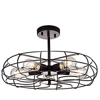 YOBO Lighting Oil Rubbed Bronze Ceiling Chandelier Review