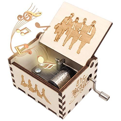 ukebobo Wooden Music Box Let It Be Music Box – 1 Set