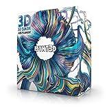 MYNT3D - MP025-10M SuperPack ABS 3D Pen Filament Refills, 32 Color, 10m Each, Over 1kg