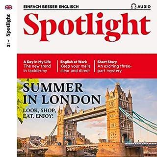Spotlight Audio - Summer in London. 7/2019 Titelbild