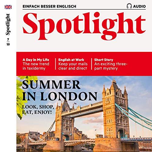 Spotlight Audio - Summer in London. 7/2019     Englisch lernen Audio - Sommer in London              著者:                                                                                                                                 div.                               ナレーター:                                                                                                                                 div.                      再生時間: 1 時間  2 分     レビューはまだありません。     総合評価 0.0