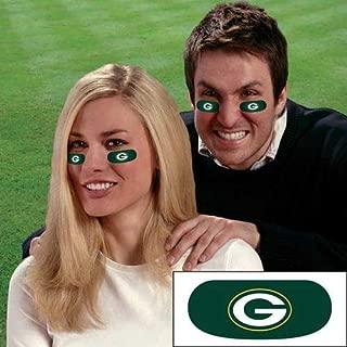 Green Bay Packers NFL Eye Black Strips - 3 Pairs