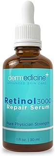 Retinol 3000 Repair Serum for Face   Pure Professional Formula w Vitamin C & Hyaluronic Acid   Professional Grade Helps Sm...