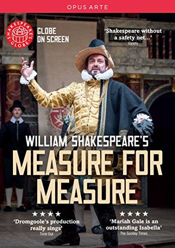 Shakespeare: Measure for Measure (Globe Theatre, 2015) [DVD]