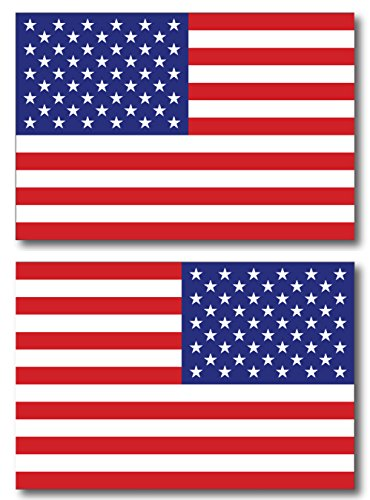 American Flag Car Magnet Decal - 4 x 6 Opposing Heavy Duty for Car Truck SUV