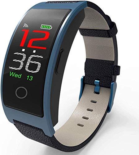 JSL Classic Fitness Tracker con temperatura corporal Presión arterial Oxígeno Monitor de sueño de frecuencia cardíaca