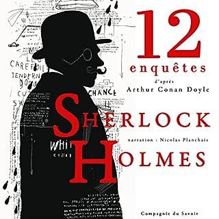 Couverture de 12 nouvelles enquêtes de Sherlock Holmes et du Dr Watson