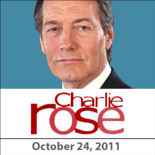 Charlie Rose: Chris Hedges and Amy Goodma, October 24, 2011 audiobook cover art
