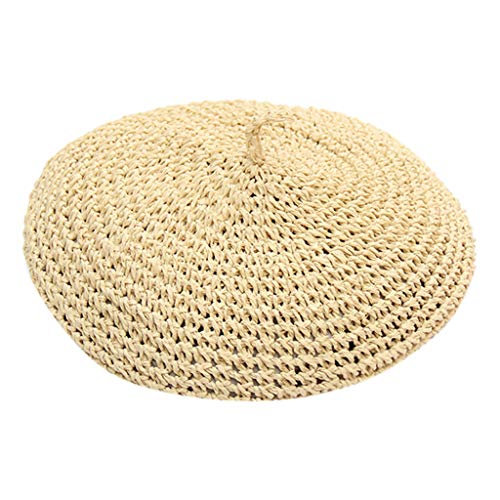 Check Out This Fashion Hat Ikevan Beret Artist Hat French Hat Casual Solid Color Breathable Hat for ...