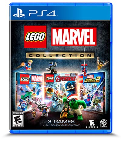 Lego Marvel Collection - Ps4 (Incl. Lego Marvel Super Heroes 1 + 2 and Avengers)