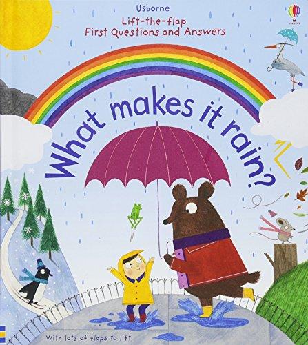 Lift The Flap First Q&A What Makes Rain