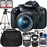 Canon EOS Rebel T7 DSLR Camera with 18-55mm EF-S f/3.5-5.6 is II Lens