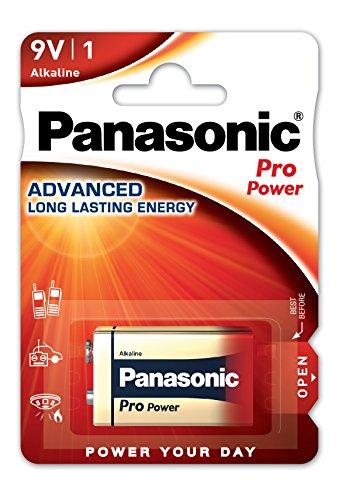 Panasonic Pro Pack de 1 Batteries Alcaline