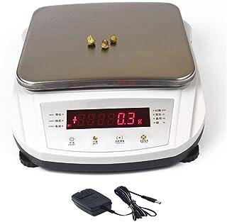 ZXZY Professionnel 0,01g Haute Balances De Précision, LCD 5 Kg Électronique Numérique Afficher Portable Expérimental Multi...