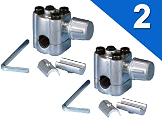 (2 Pack) BPV-31 Bullet 3-in-1 Line Tap Piercing Valve Access for Air Conditioners HVAC 1/4