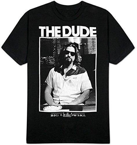 El Gran Lebowski Rubia de la película El y Negro para fotografía para Mayores de T-Camiseta de Manga Corta para Hombre Camiseta para Hombre