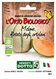 Sdd O.Bio_Melone Retato Ortolani Seme, 0.02x15.5x10.8 cm...