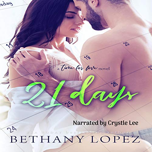 21 Days audiobook cover art
