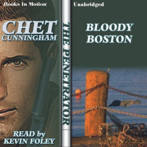 Bloody Boston audiobook cover art