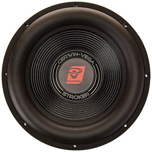 Cerwin-Vega ST124D Stroker 2000 Watts 4 Ohms/1000Watts RMS Power Handling Max 12-Inch Dual Voice Coil Subwoofer