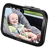 Espejo Retrovisor Coche de VicTsing para Vigilar al Bebé en el Coche, 360° Aj...