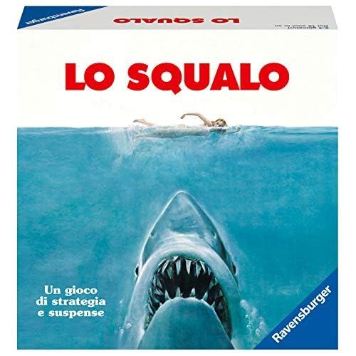 Ravensburger Italy-Lo Squalo Jaws Light Strategy Game, 2-4 Giocatori, età Consigliata 12+, Versione Italiana, 26829 0