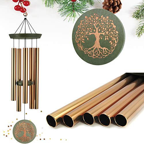 ASTARIN Wind Chimes Outdoor Deep Tone,36 Inch Large...