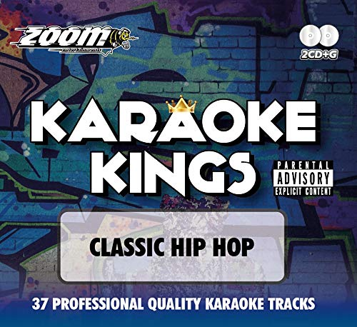 Zoom Karaoke CD+G - Karaoke Kings Vol. 1 - Classic Hip Hop (Double CD+G)