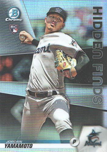2020 Bowman Chrome Baseball Hidden Finds #HF-JY Jordan Yamamoto