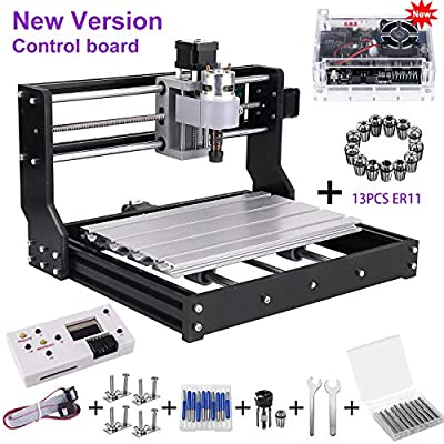 GRBL Control DIY Mini CNC Machine, Wood Router Engraver