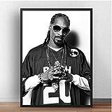N/S Poster Snoop Dogg Poster Sänger Star Musikdrucke
