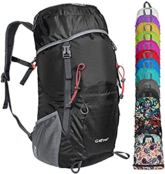 G4Free Lightweight Packable Hiking Backpack 40L