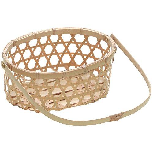 山下工芸(Yamasita craft) 白竹小判ハンドル 22457000