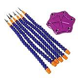 ZOOMY Hilfe für Dritte-Hände-Lötwerkzeug 6 Flexible Armschweißstation für RC-Modell - Lila