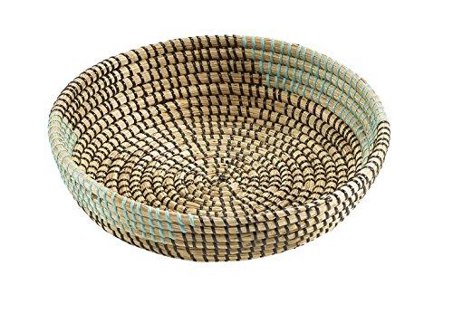 Kobolo Dekoschale aus Seegras Seegrasschale Dekokörbchen Seegraskörbchen