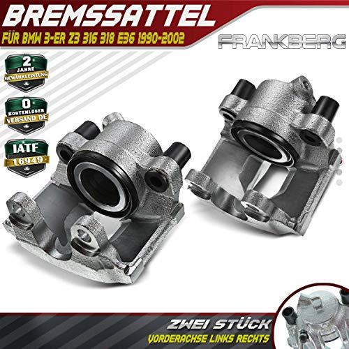 2x Bremssattel Bremszange Vorne Links + Rechts für 3ER E36 Z3 1990-2002 34111160345
