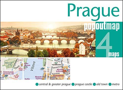 Prague (Double PopOut Map)