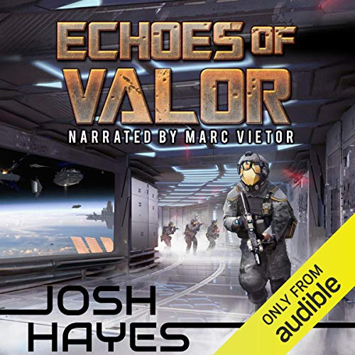 Echoes of Valor audiobook cover art